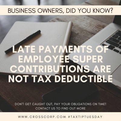Employee Superannuation Contributions
