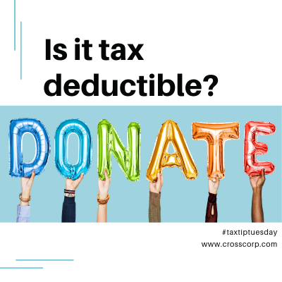Deductible Donations