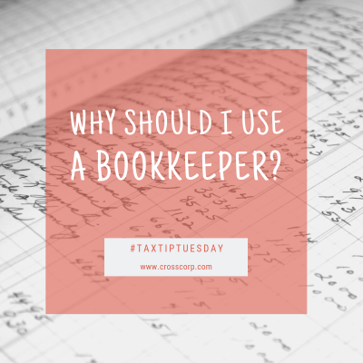 Why should I use a bookkeeper?
