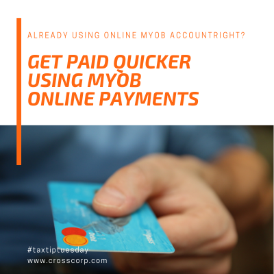 Already using online MYOB AccountRight? Get paid quicker using MYOB Online Payments