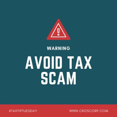 Avoid Tax Scam