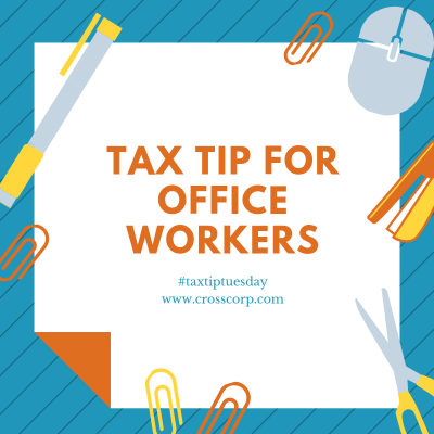 Tax Tip for Office Workers