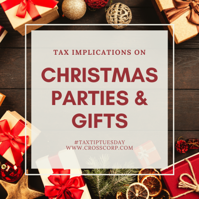 Tax implications on Christmas parties & gifts