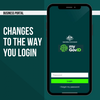 Business Portal – Changes to the way you login