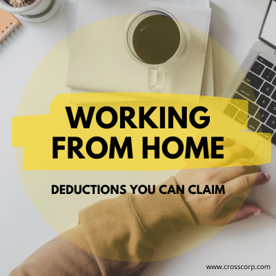 Working from home – Deductions you can claim