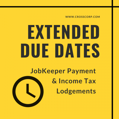 Extended due dates – JobKeeper Payment and Income Tax Lodgements