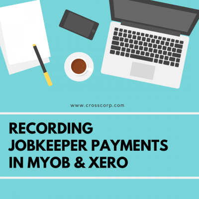 Recording JobKeeper Payments in MYOB & Xero